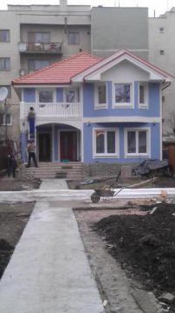 Casa din lemn in stil american