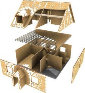 Case din lemn, case cu OSB