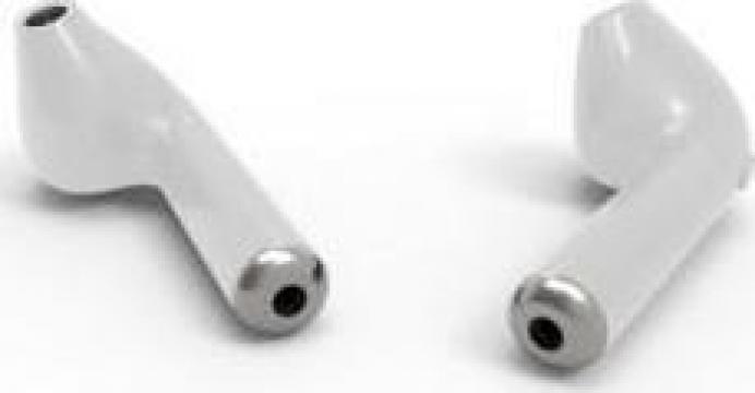 Casti wireless, I7TWS Twins Stereo True Wireless Earbuds V4