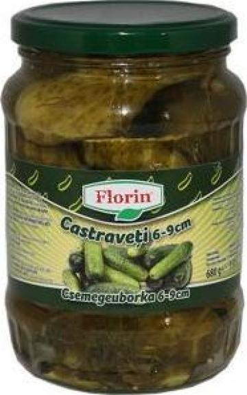 Castraveti murati Florin 6-9cm 720ml