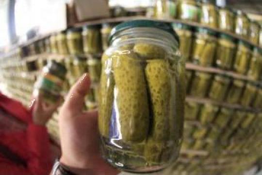 Castraveti murati (Pickled Cucumbers in Jar) 3-6cm /5-9cm