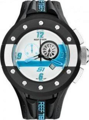 Ceas barbatesc Reef Tiger / RT Chronograph Sport Watch