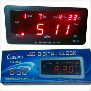 Ceas cu termometru digital si LED-uri CX-2158