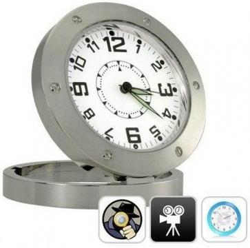 Ceas spion HD Clock DVR520