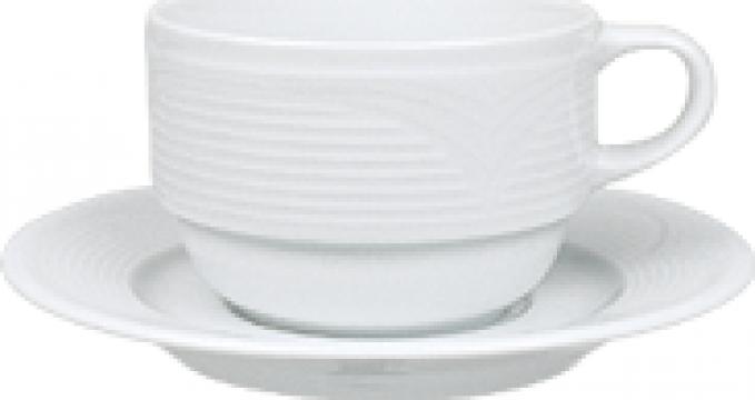 Ceasca ceai din portelan 230cc colectia Saturn
