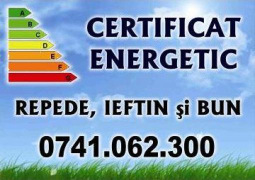 Certificat energetic pentru cladire/ apartament