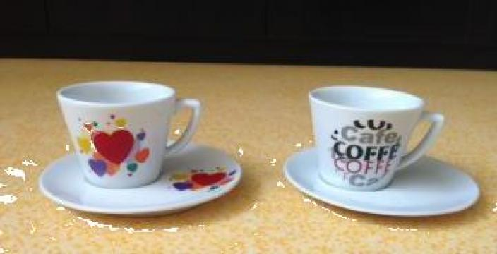 Cesti si farfurii de cafea / ceai 170 ml