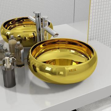 Chiuveta, auriu, 40 x 15 cm, ceramica