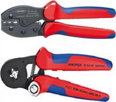 Cleste sertizat papuci izolati 0.5-6 mmp Knipex 975236SB
