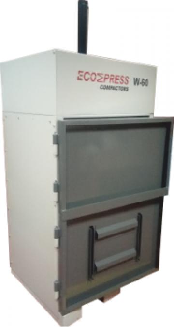 Compactoare verticale deseuri W-60