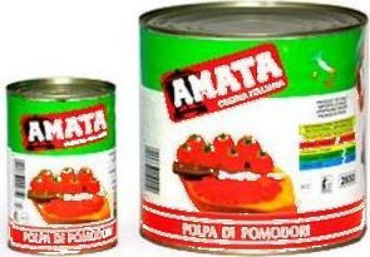 Conserva pulpa de rosii Amata