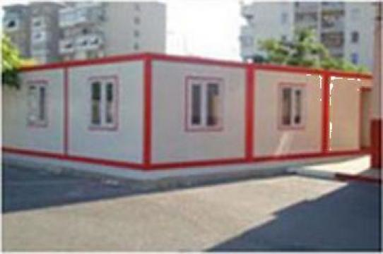 Container dormitor cu grup sanitar simplu