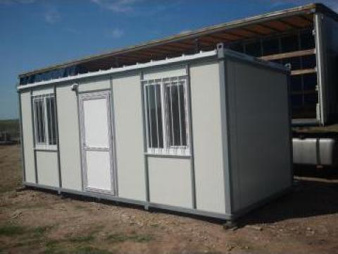 Containere metalice: santier, office, dormitor