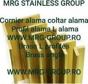 Cornier alama 60x60x5 coltar alama, profil L alama, aluminiu
