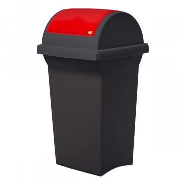 Cos de gunoi cu capac oscilobatant Tata, 50 litri