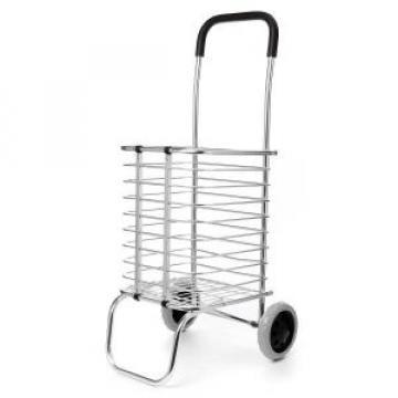 Cos pliabil cumparaturi metalic cu roti ZLN1690