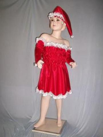 Costum de craciunita pentru fetite