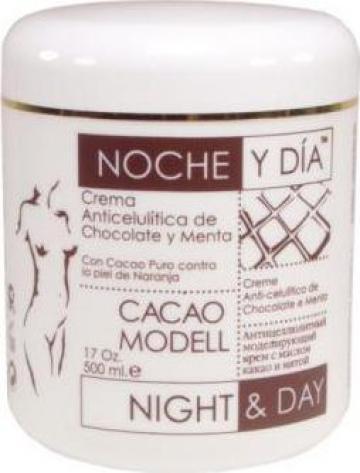 Crema anticelulitica cu ciocolata si menta, 500 ml
