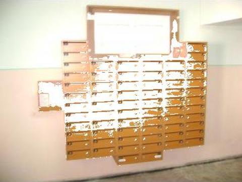Cutii postale 66 apartamente