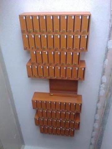 Cutii postale 76 apartamente