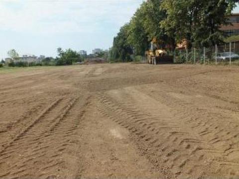 Decopertari terenuri pentru constructii