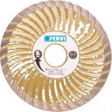 Disc diamantat 115 mm super turbo 0709