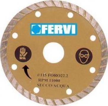 Disc diamantat 115 mm turbo 0349