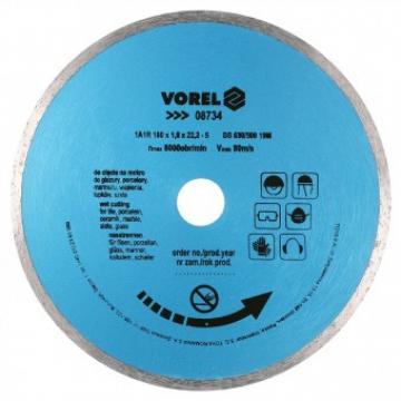 Disc diamantat 230 mm, Vorel 08735