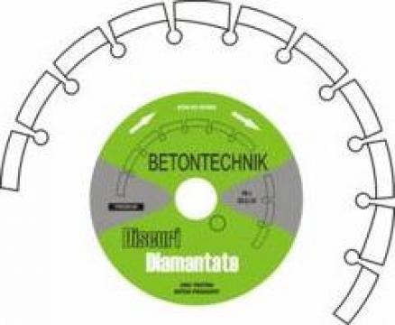 Disc diamantat pentru beton vechi armat BPT22/125