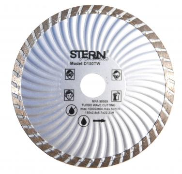 Disc diamantat taiere umeda si uscata Stern 150 mm