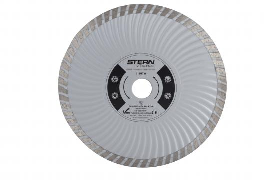 Disc diamantat taiere umeda si uscata Stern 180 mm