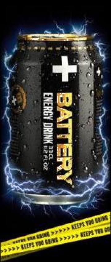 Energizant Battery Energy Drink