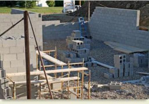 Executie constructii beton, garaje prefabricate, depozite