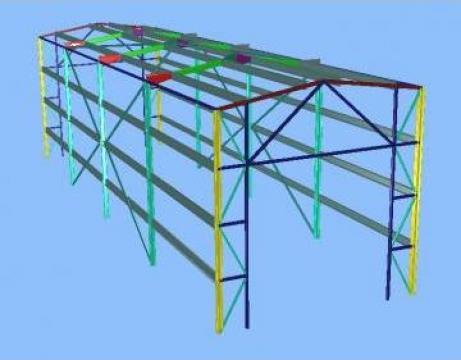 Executie constructii metal garaje, spalatorii, service auto
