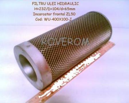 Filtru ulei hidraulic (h=232mm) buldoexcavator WZ30-25