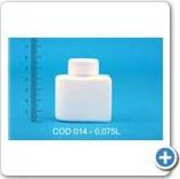 Flacon din polietilena sau polipropilena 0,125 l