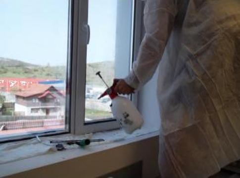 Folie protectie solara geamuri cladiri