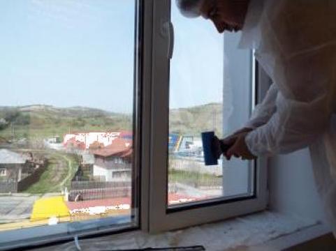 Folie protectie solara geamuri termopan sau cladiri