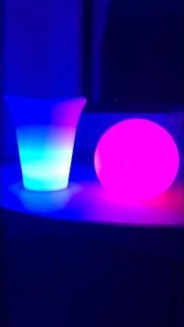 Frapiera luminoasa cu LED rgbw, 16 culori lumini