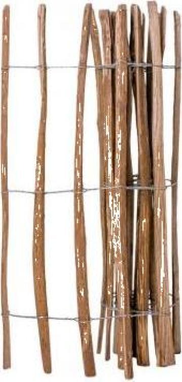 Gard din tarusi, lemn de alun tratat 120 x 250 cm
