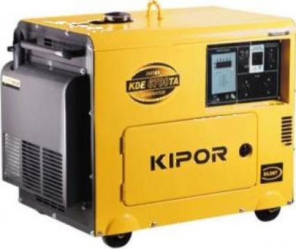 Generator curent cu automatizare Kipor KDA 6700 TAO