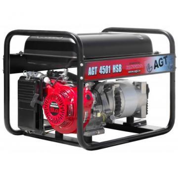 Generator de curent monofazat AGT 4501 R26 Honda
