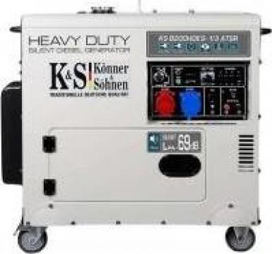Generator de curent trifazat diesel insonorizat 6,5 kw