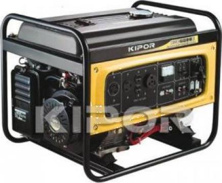 Generator electric benzina Kipor 5,5 Kva cu automatizare