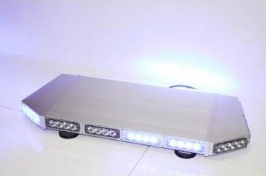Girofar auto minirampa albastra cu LED