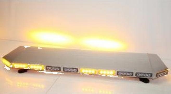 Girofar auto rampa luminoasa extraplata cu LED
