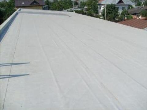 Hidroizolatii cu membrana PVC pentru terase, bazine
