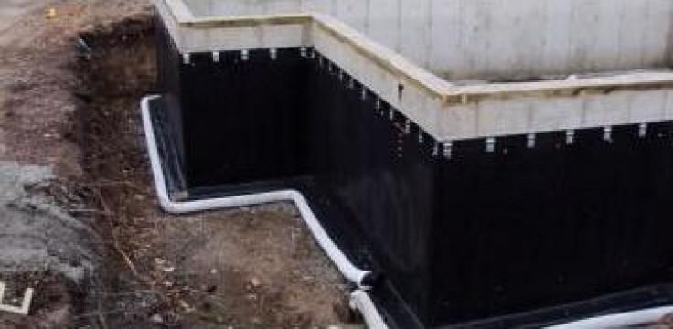 Hidroizolatii pentru fundatii