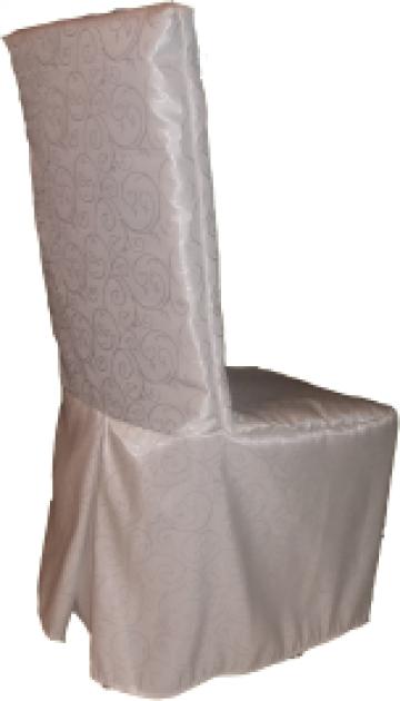 Husa de scaun stretch, fixa, pe scaun brocard