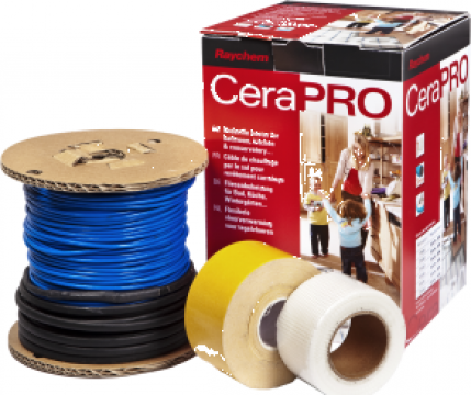 Incalzire electrica in pardoseala -Cablu incalzitor CeraPr